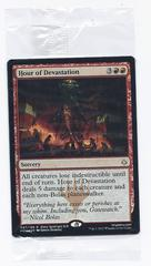 Hour of Devastation - Foil Promo Prerelease (red rare sorcery)