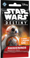 Star Wars Destiny Dice Building Game: Awakenings single Booster Pack