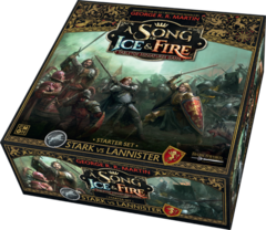 A Song of Ice & Fire Miniatures Game: Stark vs. Lannister 2-player starter set