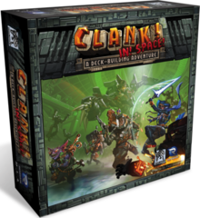 Clank! In! Space! stand alone or expansion deck building game renegade studios