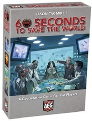 60 Seconds to Save the World: PRESALE board game AEG