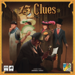 13 Clues: PRESALE board game coolminiornot