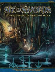 Blue Rose RPG: PRESALE Six of Swords - Adventures in the World of Aldea 2nd edition (2016)