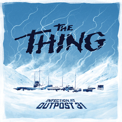 The Thing - Infection at Outpost 31: board game usaopoly