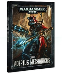 Warhammer 40K: PRESALE Adeptus Mechanicus Codex (Hardcover)