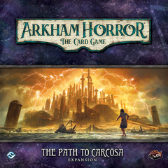 Arkham Horror LCG: living card game Path to Carcosa deluxe expansion FFG