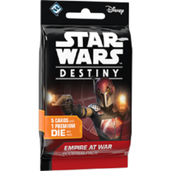 Star Wars Destiny Dice Building Game: Empire at War single Booster Pack