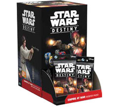 Star Wars Destiny Dice Building Game: Empire at War Booster Pack Display (36-count)