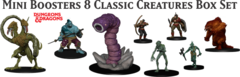 Dungeons and Dragons Icons: Classic Creatures miniatures box set 1