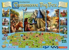 Carcassonne: Big Box 6 (2017 version) base/core game + expansions z-man