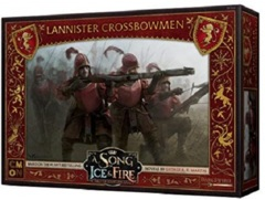 A Song of Ice & Fire Miniatures Game: PRESALE Lannister Crossbowmen unit box