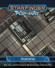 Starfinder Roleplaying Game RPG: PRESALE Flip Mat Starship