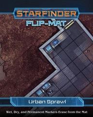 Starfinder Roleplaying Game RPG: PRESALE Flip Mat Urban Sprawl