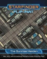 Starfinder Roleplaying Game RPG: PRESALE Flip Mat Sunrise Maiden