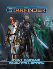 Starfinder Roleplaying Game RPG: PRESALE Pact Worlds Pawns Collection Box