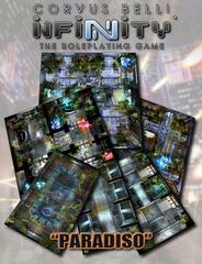 Infinity Roleplaying Game RPG: PRESALE Paradiso Geomorphic Tile Set modiphius