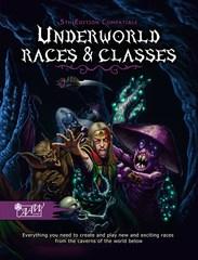 D+D 5th edition RPG: Underworld Races & Classes