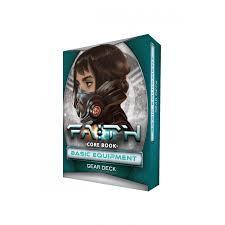 Faith Sci-Fi RPG: PRESALE base/core Basic Equipment Deck
