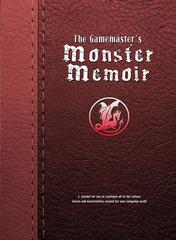 The Gamemaster's Journal: PRESALE Monster Memoir