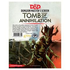 Dungeons and Dragons RPG: Tomb of Annihilation DM Screen gale force 9