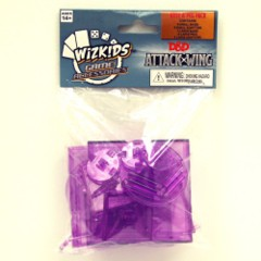 D&D Dungeons & Dragons Attack Wing: PURPLE base and peg Set