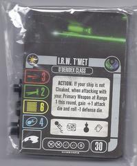 Star Trek Attack Wing: Romulan IRW T'Met OP prize pack sealed