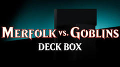 MTG: Ultra Pro Merfolk vs. Goblins dual deck box 86650