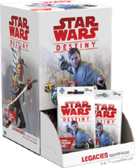 Star Wars Destiny Dice Building Game: Legacies Booster Pack Display (36-count)