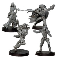 Faith Sci-Fi RPG: PRESALE A Garden in Hell Miniatures Set