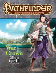 Pathfinder Adventure Path: PRESALE War for the Crown Part 4 - City in the Lion's Eye paizo