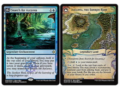 Search for Azcanta // Azcanta, the Sunken Ruin buy-a-box FOIL promo