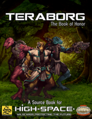 Savage Worlds: PRESALE Teraborg - The Book of Honor