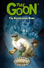 Savage Worlds RPG: The Goon limited edition hardcover