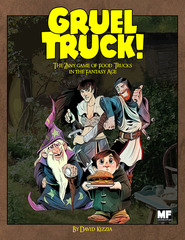 Gruel Truck! RPG roleplaying game: PRESALE rulebook