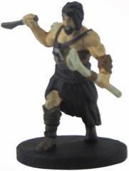 Uthgardt Barbarian #33b (black hair)