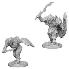 D&D Nolzur's Marvelous Unpainted Minis: Dragonborn Male Fighter (pack of 2)