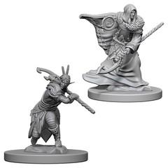 D&D Nolzur's Marvelous Unpainted Minis: Elf Male Druid (pack of 2)
