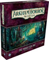 Arkham Horror LCG: living card game The Forgotten Age deluxe expansion FFG
