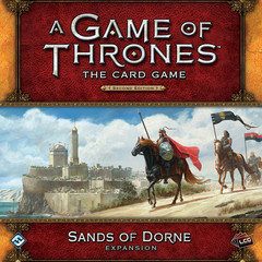 A Game of Thrones LCG: 2nd edition PRESALE Sands of Dorne deluxe expansion FFG