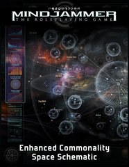 Fate RPG: Mindjammer - PRESALE Enhanced Space Schematic Poster Map supplement Modiphius