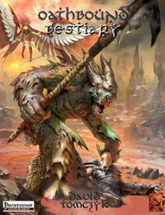 Pathfinder RPG: PRESALE Oathbound Bestiary epidemic books
