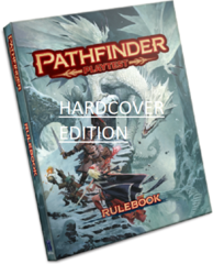 Pathfinder RPG 2nd Edition: base/core Rulebook PLAYTEST hardcover paizo