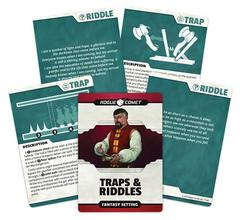Traps & Riddles Cards: PRESALE Fantasy setting rogue comet games