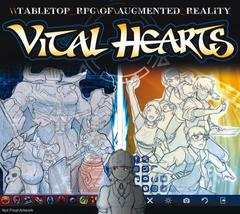 Vital Hearts: PRESALE Tabletop RPG of Augmented Reality rulebook