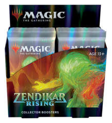MTG: PRESALE Zendikar Rising collector booster box display