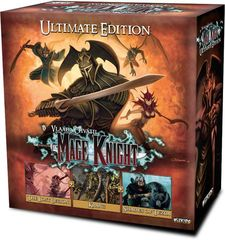 Mage Knight: PRESALE Ultimate Edition board game base/core wizkids