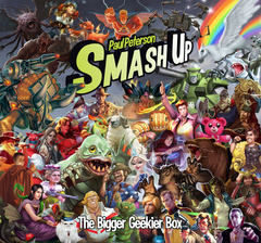 Smash Up: card game Bigger Geekier Box expansion AEG