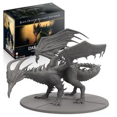 Dark Souls: Black Dragon Kalameet expansion board game steamforged
