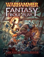 Warhammer Fantasy Roleplaying Game 4th edition: base/core rulebook cubicle 7