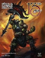 13th Age RPG: PRESALE Fire & Faith encounters book